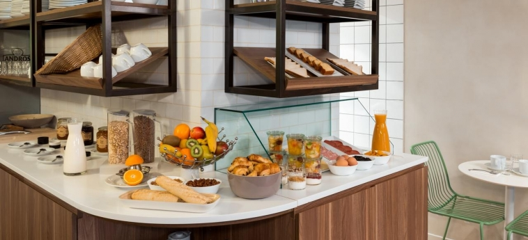 Quality Hotel & Suites Bercy Bibliotheque By Happyculture: Sala de Desayuno PARIS