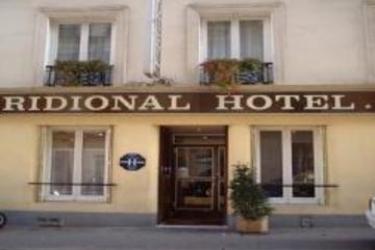 Hotel Meridional: Eingang PARIS