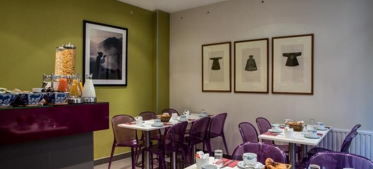 Hotel Aberotel Montparnasse: Sala de Desayuno PARIS