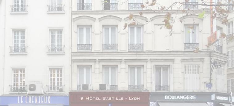 9Hotel Bastille-Lyon: Außen PARIS