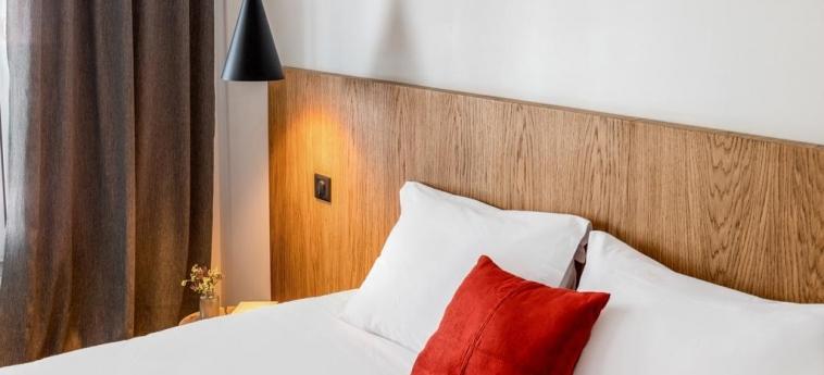 9Hotel Bastille-Lyon: Gastzimmer Blick PARIS