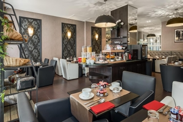 Hotel Best Western Premier Elysees Bassano: Breakfast Room PARIS