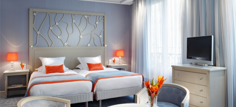 Hotel Rochester Champs Elysees: Doppelzimmer - Twin PARIS