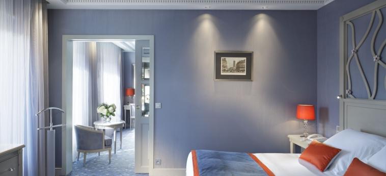 Hotel Rochester Champs Elysees: Hotel Innenraum PARIS