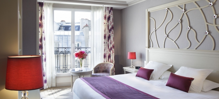 Hotel Rochester Champs Elysees: Bedroom PARIS