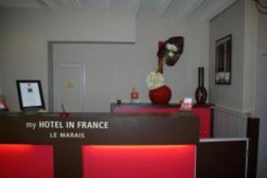 Hotel Mhif Le Marais: Reception PARIS