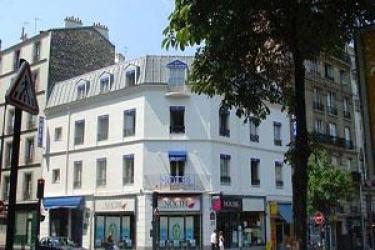 Hotel Korner Montparnasse: Außen PARIS
