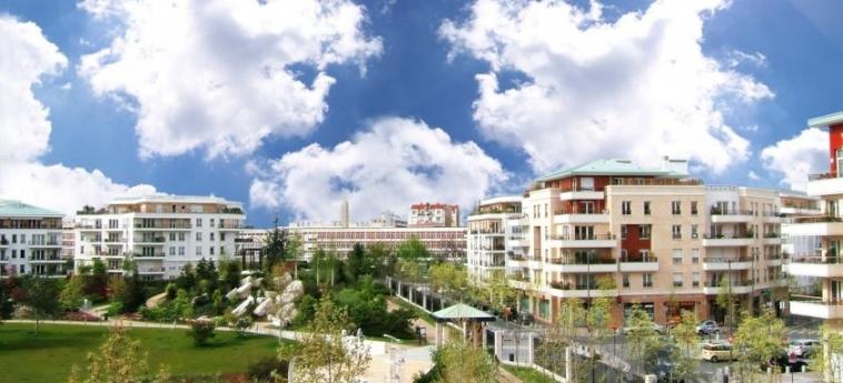 Hotel Residhome Monceau Bois Colombes: Sorroundings PARIS