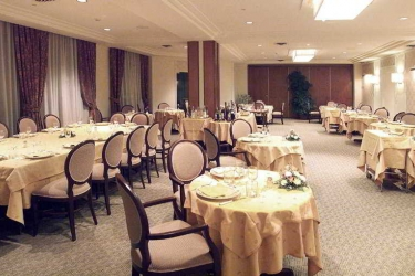 Perugia Plaza Hotel: Restaurant PEROUSE