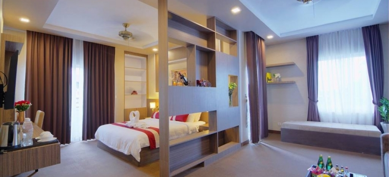 Anik Boutique Hotel & Spa On Norodom Blvd: Habitaciòn Doble PHNOM PENH