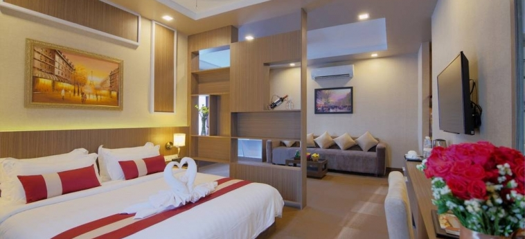 Anik Boutique Hotel & Spa On Norodom Blvd: Interior PHNOM PENH