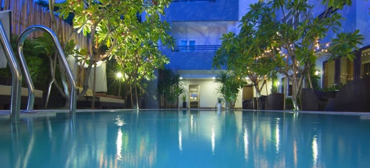 Anik Boutique Hotel & Spa On Norodom Blvd: Swimming Pool PHNOM PENH