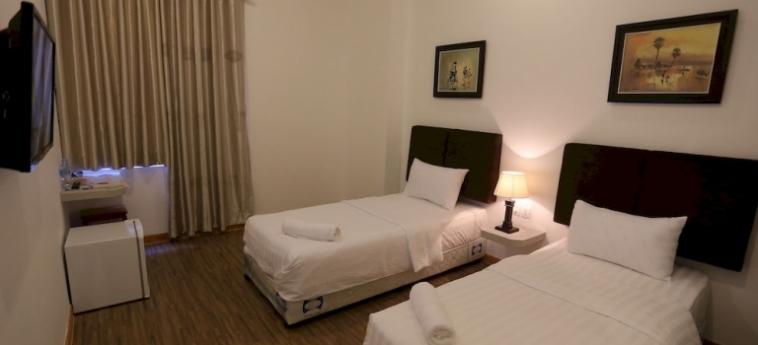 Hotel Lance Court: Deluxe Zimmer PHNOM PENH