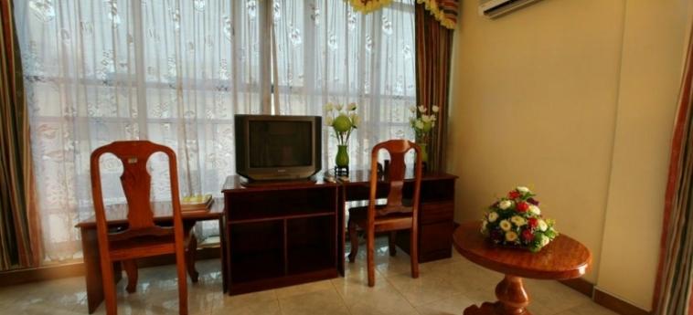 Hotel Lucky Star: Hall PHNOM PENH