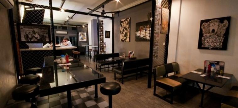 Hotel Me Mates Place: Restaurante PHNOM PENH
