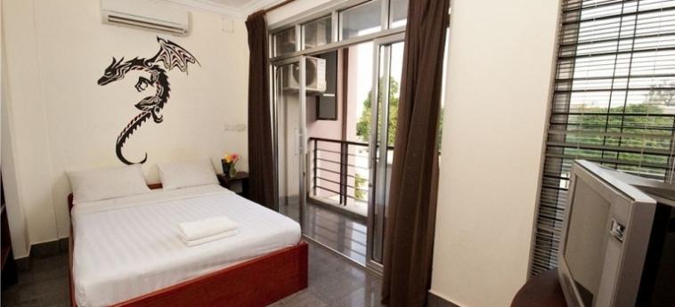 Hotel Me Mates Place: Sala de Desayuno PHNOM PENH