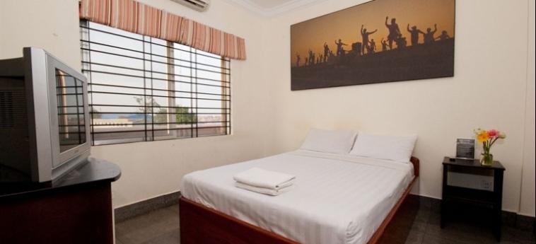 Hotel Me Mates Place: Veranda PHNOM PENH