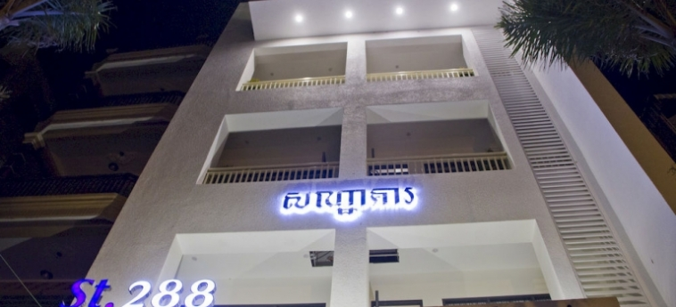 St. 288 Hotel Apartment & Hotel Service: Lounge PHNOM PENH