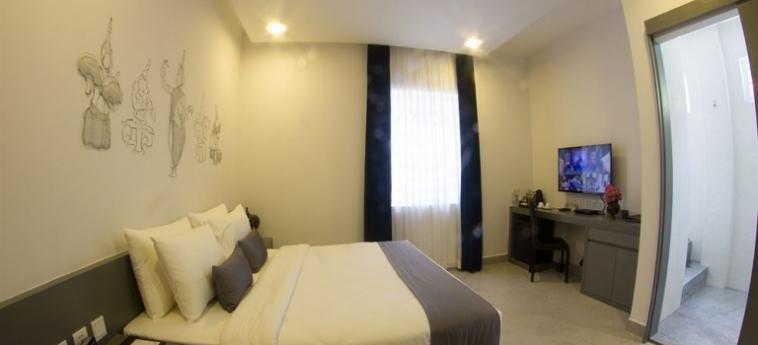 Teav Bassac Boutique Hotel & Spa: Campo de Baloncesto PHNOM PENH