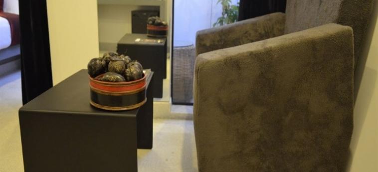 Teav Bassac Boutique Hotel & Spa: Sala Relax PHNOM PENH