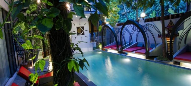 Teav Bassac Boutique Hotel & Spa: Soggiorno E Angolo Cottura PHNOM PENH