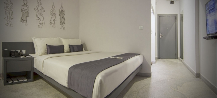 Teav Bassac Boutique Hotel & Spa: Dormitorio PHNOM PENH