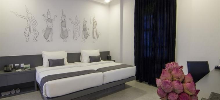 Teav Bassac Boutique Hotel & Spa: Cave à vin PHNOM PENH