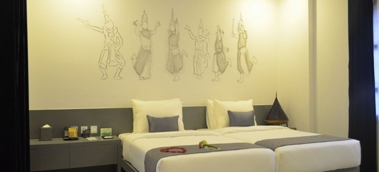 Teav Bassac Boutique Hotel & Spa: Chambre junior Suite  PHNOM PENH