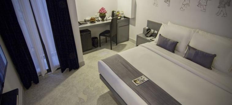 Teav Bassac Boutique Hotel & Spa: Salle de Petit Dejeuner PHNOM PENH