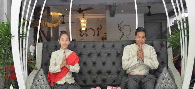 Teav Bassac Boutique Hotel & Spa: Hotelhalle PHNOM PENH
