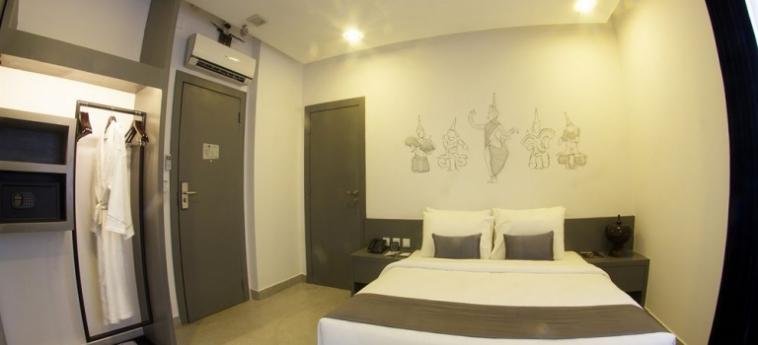 Teav Bassac Boutique Hotel & Spa: Meer PHNOM PENH