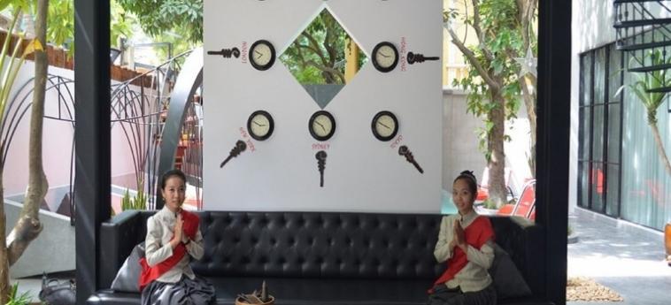 Teav Bassac Boutique Hotel & Spa: Strand PHNOM PENH