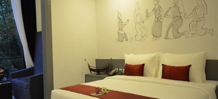 Teav Bassac Boutique Hotel & Spa: Superiorzimmer PHNOM PENH