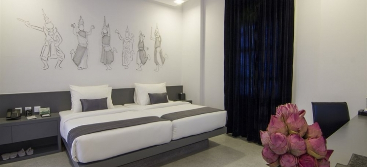 Teav Bassac Boutique Hotel & Spa: Weinkeller PHNOM PENH
