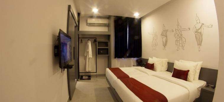 Teav Bassac Boutique Hotel & Spa: Patio PHNOM PENH