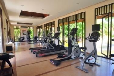 Hotel Duangjitt Resort: Salle de Gym PHUKET