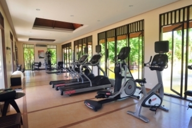 Hotel Duangjitt Resort: Gym PHUKET