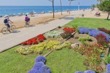 Hotel Merce: Strand PINEDA DE MAR - COSTA DEL MARESME