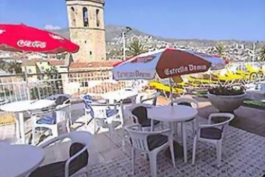 Hotel Merce: Terrasse PINEDA DE MAR - COSTA DEL MARESME
