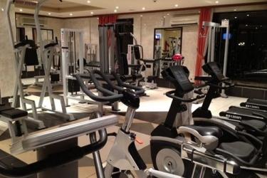 Atlantic Palace Hotel: Fitness facility POINTE-NOIRE