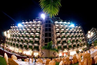 Atlantic Palace Hotel: Hotel front POINTE-NOIRE