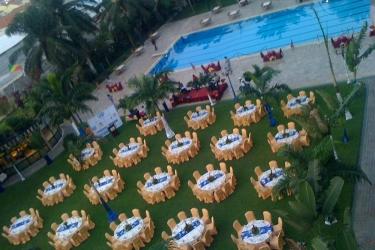 Atlantic Palace Hotel: Outdoor Banquet Area POINTE-NOIRE