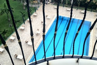 Atlantic Palace Hotel: Outdoor Swimmingpool POINTE-NOIRE
