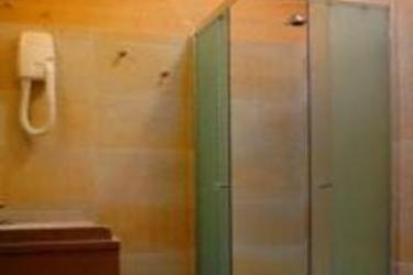 Hotel Garni Pegrà: Wandmalerei PONTE DI LEGNO - BRESCIA