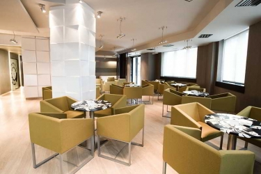 Hotel Bienestar Moaña: Bar PONTEVEDRA