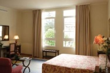 Hotel Balneario De Mondariz: Schlafzimmer PONTEVEDRA