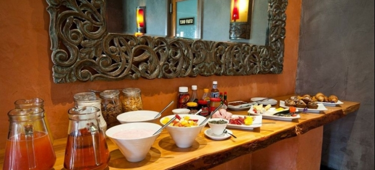 Hotel Singa Lodge: Frühstücksraum PORT ELIZABETH