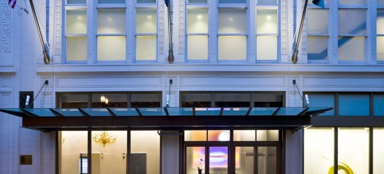 The Nines, A Luxury Collection Hotel, Portland: Entrada PORTLAND (OR)