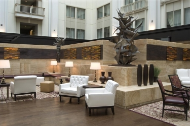 The Nines, A Luxury Collection Hotel, Portland: Hall PORTLAND (OR)