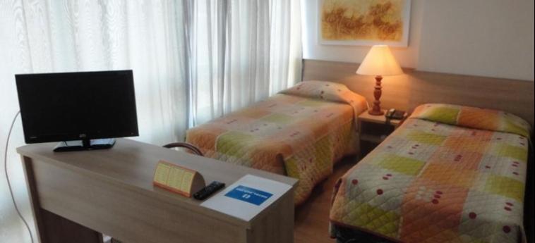 Hotel Dann Inn Porto Alegre: Chambre jumeau PORTO ALEGRE